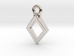 Diamond Charm / Pendant / Trinket in Platinum