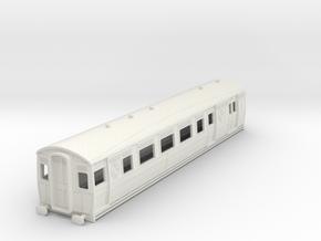 0-87-ltsr-ealing-brake-3rd-coach in White Natural Versatile Plastic