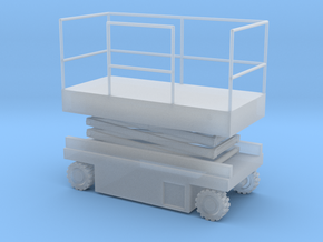 JLG Scissor Lift - Closed Position - Sscale in Smooth Fine Detail Plastic