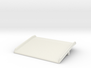 Warehouse Dock Board 1/48 in White Natural Versatile Plastic