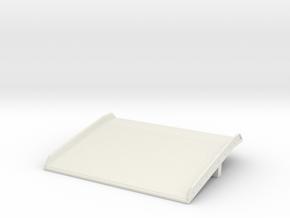 Warehouse Dock Board 1/24 in White Natural Versatile Plastic