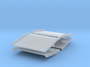 Warehouse Dock Board (x4) 1/120 in Smooth Fine Detail Plastic