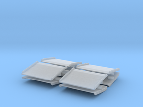 Warehouse Dock Board (x8) 1/144 in Smooth Fine Detail Plastic