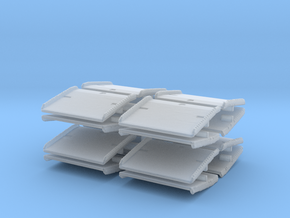 Warehouse Dock Board (x16) 1/285 in Smooth Fine Detail Plastic