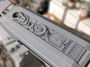 WING-X REBELL 1/29 EASYKIT DROID STRIP  in Smooth Fine Detail Plastic