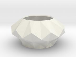 Oceanus in White Natural Versatile Plastic