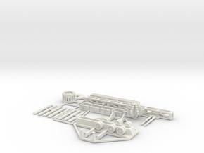 VERTIGO - Full Kit in White Natural Versatile Plastic