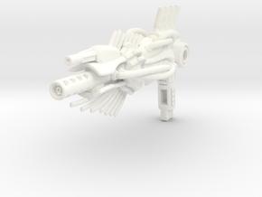 Scolex spiker for TLK Berserker (no claws) in White Processed Versatile Plastic