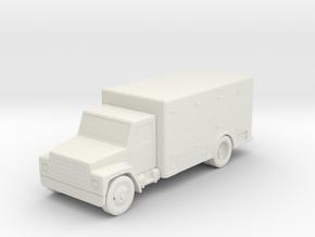 S Scale Ice Truck in White Natural Versatile Plastic