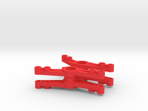 Tlt-1 Cantilever pair in Red Strong & Flexible Polished