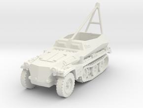 Sdkfz 250 A ARV Crane 1/72 in White Natural Versatile Plastic