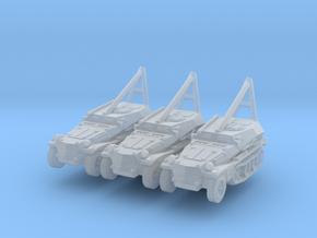 Sdkfz 253 ARV Crane (x3) 1/285 in Smooth Fine Detail Plastic