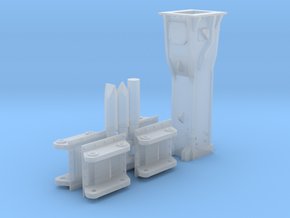 1:50 Hammer for 85Ton excavators in Smooth Fine Detail Plastic