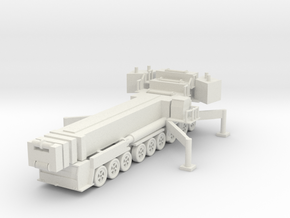 Liebherr LTM 1750-9.1 (deployed) 1/100 in White Natural Versatile Plastic