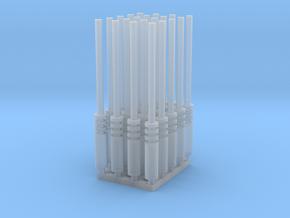 Laser (x20) in Smooth Fine Detail Plastic