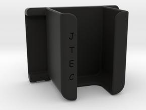 Pulse Oximeter belt/waist Clip mk 2 in Black Natural Versatile Plastic