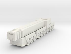 Liebherr LTM 1750-9.1 1/100 in White Natural Versatile Plastic