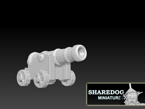 Vehicle Series: Cannon in White Natural Versatile Plastic