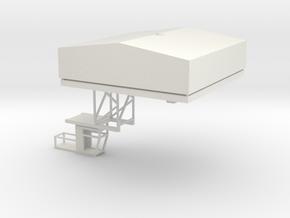 BCI Crane Trolley N scale in White Natural Versatile Plastic