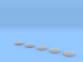 Crawler Gear Detail 1 1:72 in Smoothest Fine Detail Plastic