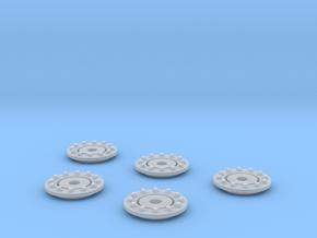 Crawler Gear Detail 2 1:72 in Smoothest Fine Detail Plastic