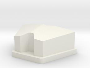 Grandus Mouth Plate in White Natural Versatile Plastic