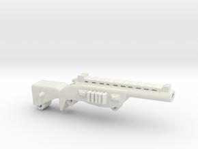 Shotgun in White Natural Versatile Plastic