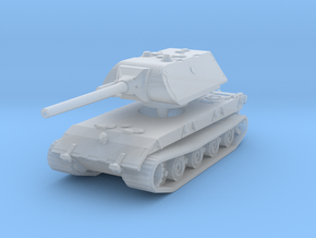 E 100 Maus 128mm 1/220 in Smooth Fine Detail Plastic