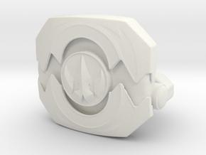 Morpher LC Figure Open Drakkon in White Natural Versatile Plastic
