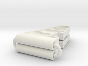 Tamiya 959 lower arm with pockets in White Natural Versatile Plastic