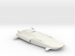 BG Hover Car V4 1:160 Scale in White Natural Versatile Plastic
