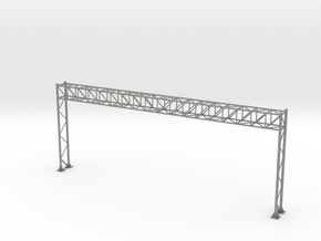 HO Scale Sign Gantry 193mm in Gray PA12