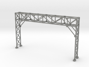 HO Scale Signal Gantry 3 tracks in Gray PA12