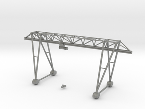 N Scale Gantry Crane 154mm in Gray PA12