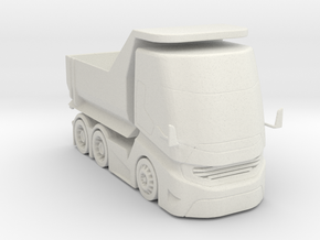 BG Tipper Truck  1:160 scale in White Natural Versatile Plastic