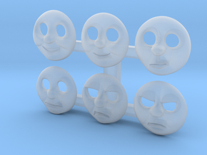 HO Thomas Face Pack #1 in Smooth Fine Detail Plastic