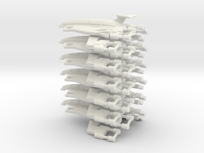 Nomad-D SR1 SDF Wing (6) in White Natural Versatile Plastic