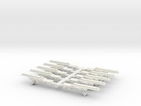 Automatic Assault Rifle SET in White Natural Versatile Plastic
