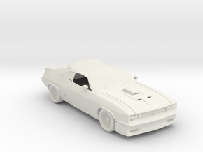 BG Ford Falcon XB V3 1:160 scale in White Natural Versatile Plastic