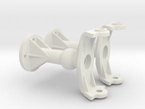 Tamiya Clodbuster Axles E Parts in White Natural Versatile Plastic