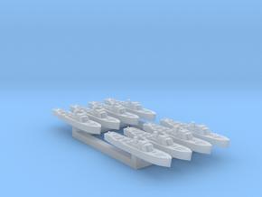 8pk Fairmile B class motor launch WW2 1:2400 in Smooth Fine Detail Plastic