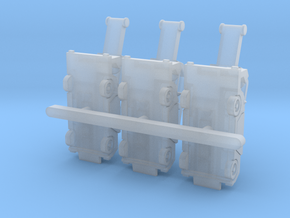 Orbiter4 rev1 Luggage Belt 7.5mm@1/400 in Smoothest Fine Detail Plastic: 1:200