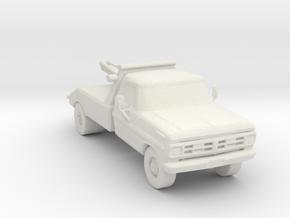 80's Wrecker 1:160 Scale in White Natural Versatile Plastic
