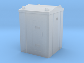 Railway Relay Cabinet 1/144 in Smooth Fine Detail Plastic