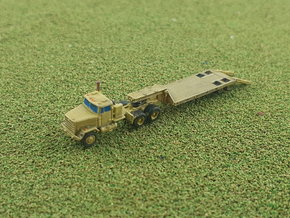 M916 LET w. M172 Lowbed Trailer 1/285 in Smooth Fine Detail Plastic