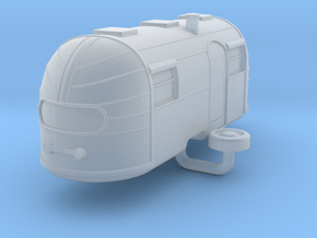 Airstream Trailer scale: 1:220 in Smooth Fine Detail Plastic