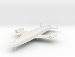 (1:144) Sanger Silbervogel w/ Advanced Ramjet  in White Natural Versatile Plastic