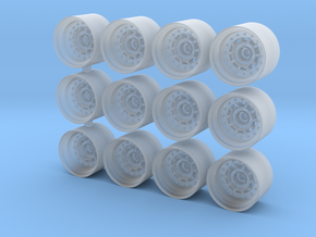 Gotti 75BA rims for Hot Wheels in Smooth Fine Detail Plastic