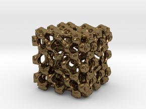 Fractal Box MB4 in Natural Bronze