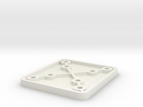 Raspberry Pi4 + Camera mount in White Natural Versatile Plastic